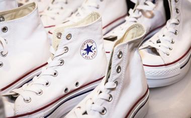 Converse cipő tisztítása