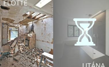 Erre Te sem számítanál! Elképesztő átalakítás ezzel a romos helyiséggel!