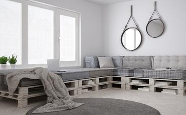 Így hozz létre egyedi bútorokat raklapokból! – Mutatjuk!