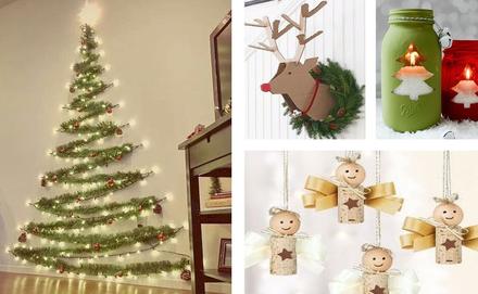 Karácsonyi DIY projektek, dekorációk