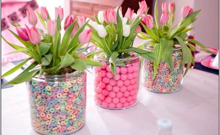 Tavaszi dekorációk egyszerűen