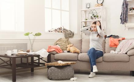 15 perces nappali takarítás