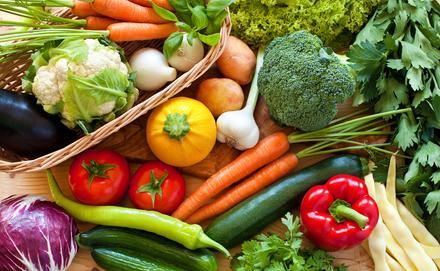 egészséges zöldségek